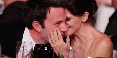 """Su relación con """"JLo"""" fue muy distinta a la que hoy mantiene con Jennifer Garner Foto:Getty"""