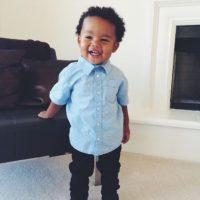 Todos se preguntan si quiere a su bebé. Foto:Beautiful Black Babies/Tumblr
