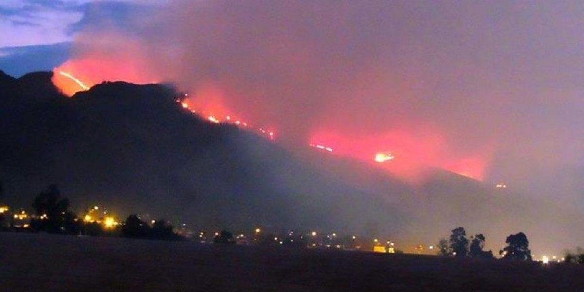 FOTOS: Así se controló el terrible incendio forestal de Villa de Leyva