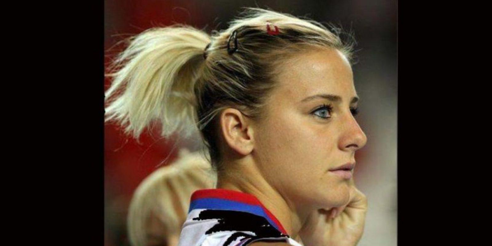 La serbia de 32 años engalana las duelas del Mundial con su belleza Foto:Twitter: @MILICADABOVIC13