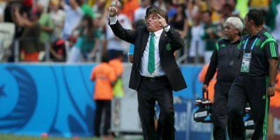 """El """"Piojo"""" también hizo jugar bien al Tri durante la Copa del Mundo Foto:Getty"""