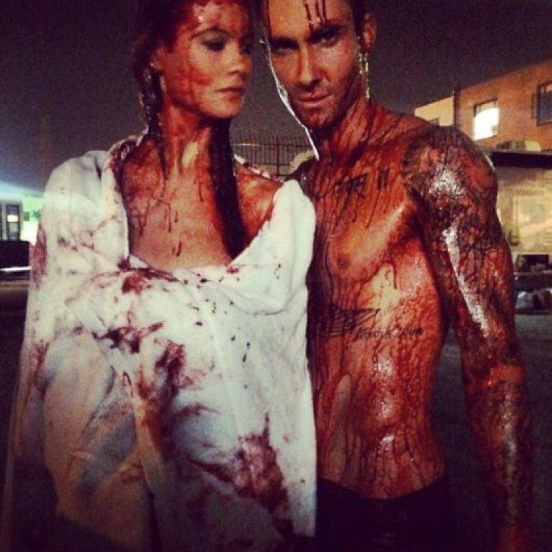 Adam Levine y Behati Prinsloo han sido criticados Foto:AdamLevine vía Instagram