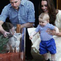 Los duques de Cambridge anunciaron que están tomando medidas legales para protejer la privacidad de su hijo, el príncipe George Foto:Getty Images