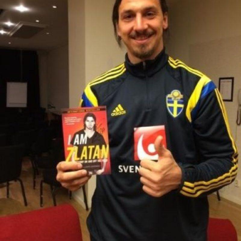 Así luce actualmente el futbolista sueco. Foto:twitter.com/Ibra_official