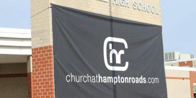 La iglesia se encuentra en Virginia Foto:Joel Brown vía Facebook
