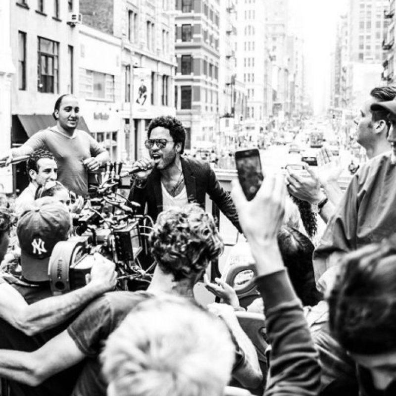 Foto:Instagram/Lenny Kravitz