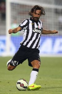 El italiano Andrea Pirlo Foto: Getty Images