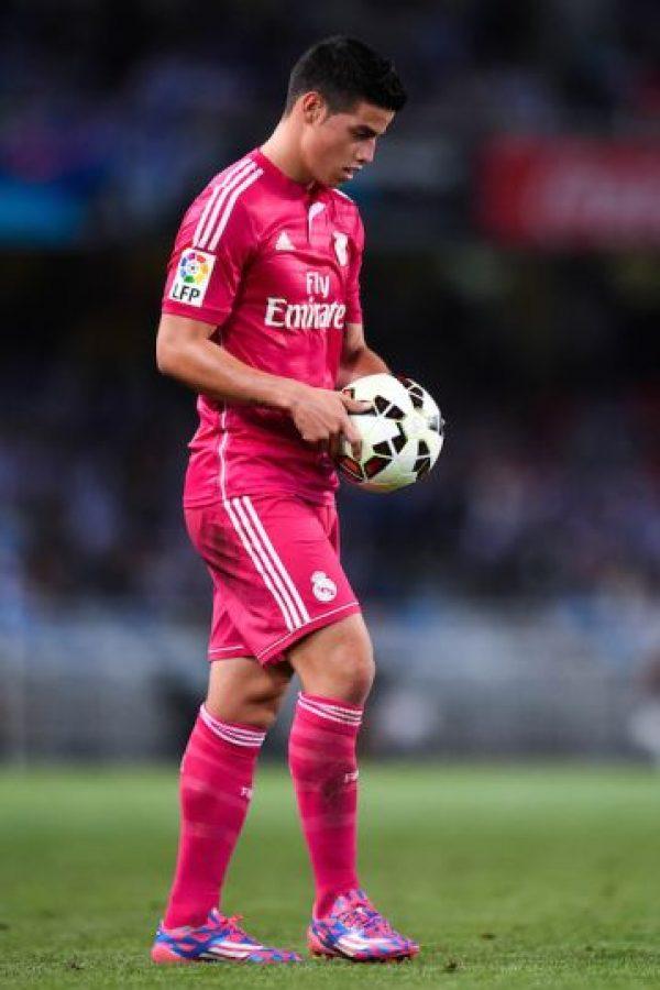 En tanto, el colombiano James Rodríguez también será titular ante el Athletic Foto:Getty Images