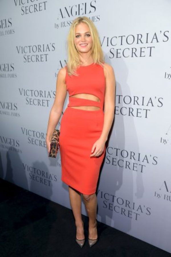 La modelo de Victoria's Secret, Erin Heatherton Foto: Getty Images