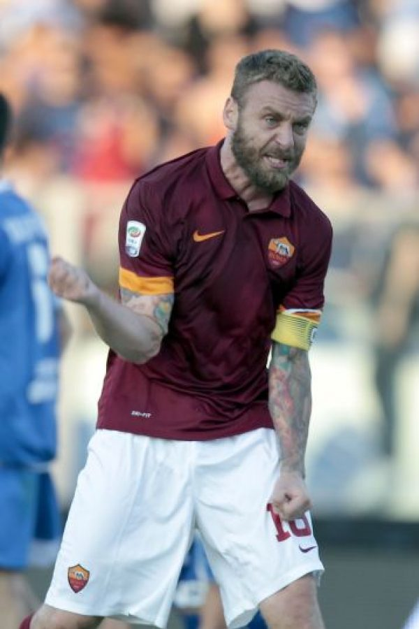 El italiano Daniele de Rossi Foto: Getty Images