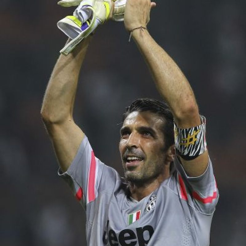 El iataliano Gianluigi Buffon Foto: Getty Images