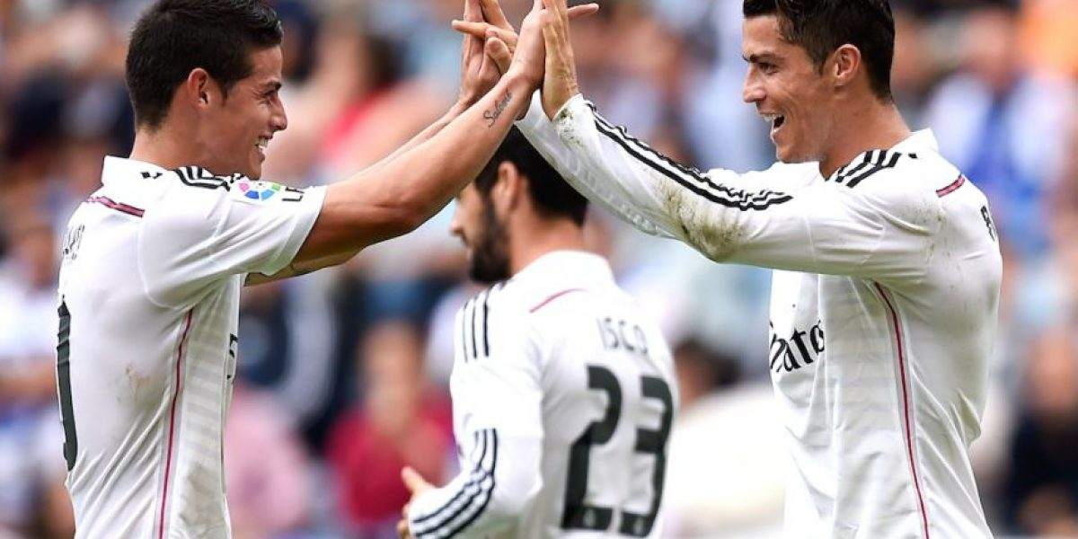 EN VIVO: Real Madrid vs. Athletic, Cristiano Ronaldo y James a la cancha