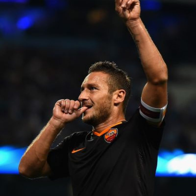 El italiano Francesco Totti Foto: Getty Images