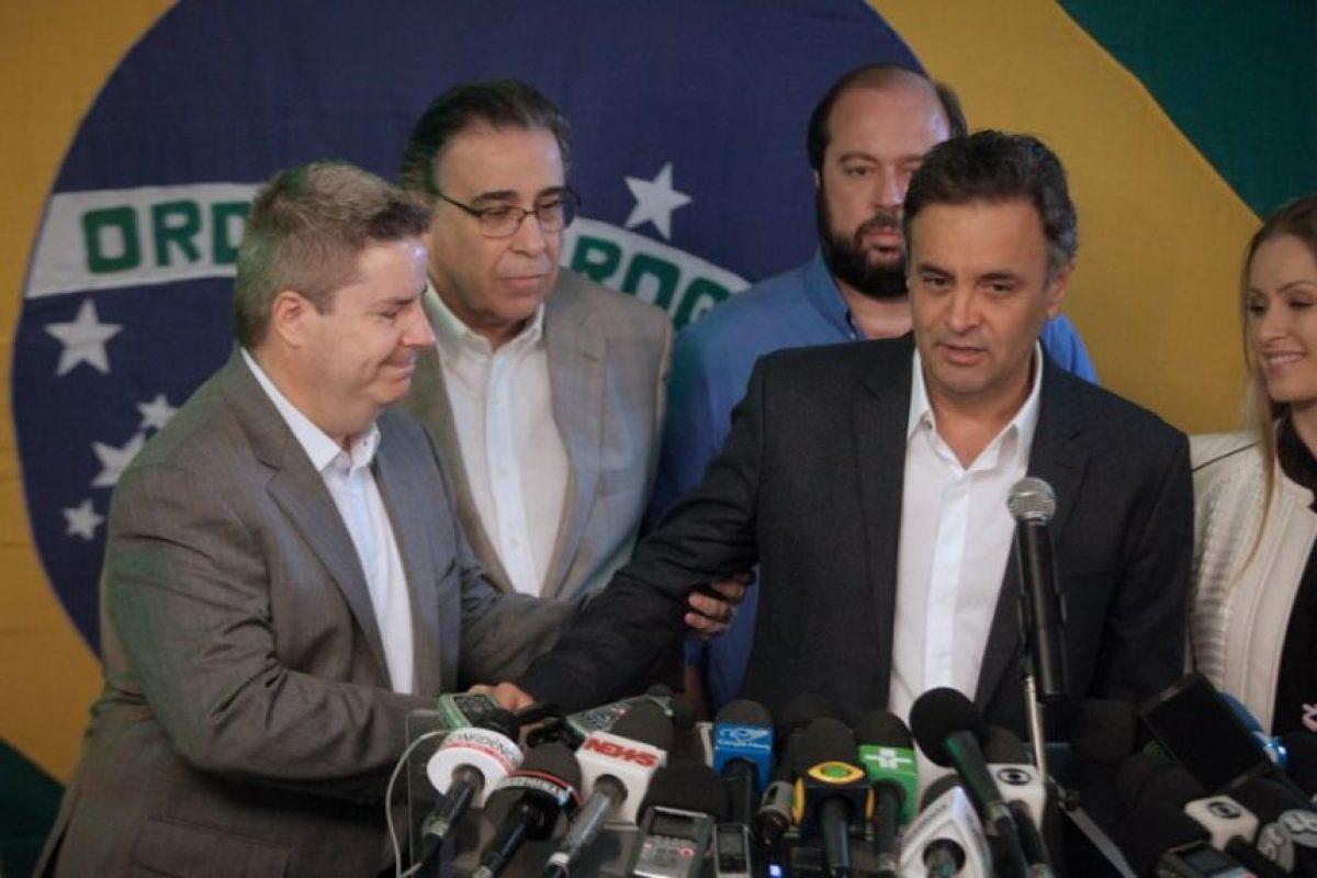 El candidato Aécio Neves Foto:AFP
