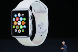 Apple Watch. El primer dispositivo de esta categoría lanzado por Apple Foto: Getty Images