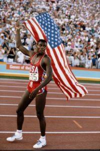 Carl Lewis, exatleta ganador de diez medallas olímpicas entre 1984 y 1996. Foto:Getty Images