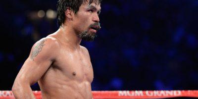 """Manny Pacquiao, boxeador filipino reconocido como """"el mejor libra por libra del mundo"""". Foto:Getty Images"""