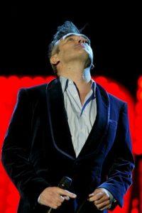 Steven Patrick Morrissey tiene 55 años de edad. Foto:Getty Images