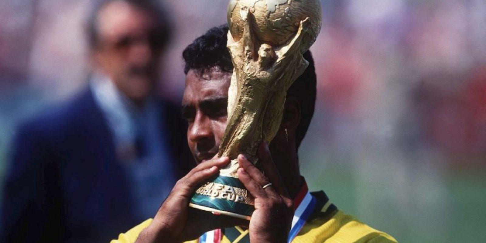 Romario, exfutbolista campón del mundo en Estados Unidos 1994. Foto:Getty Images