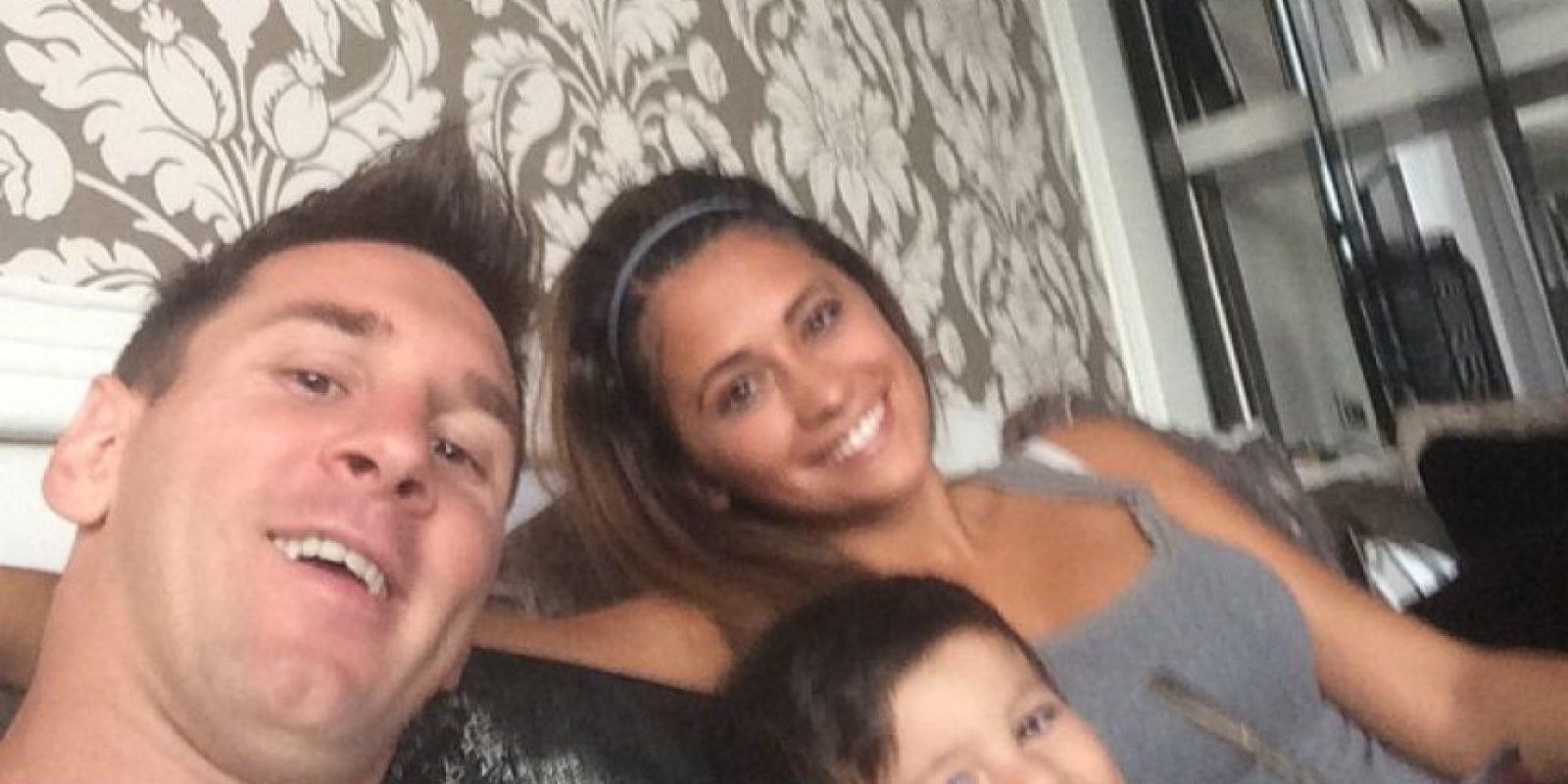 Y pasar momentos con su familia Foto:Facebook: Leo Messi