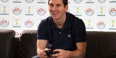 También le gustan los videojuegos Foto:Facebook: Leo Messi