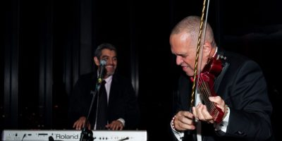 El violinista deleitó a los invitados Foto:Cortesía Festival de Cine de Bogotá
