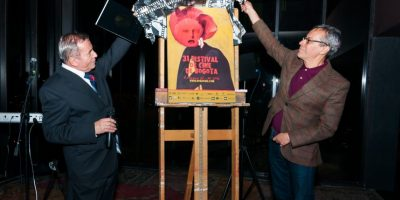 Los artistas en el evento Foto:Cortesía Festival de Cine de Bogotá