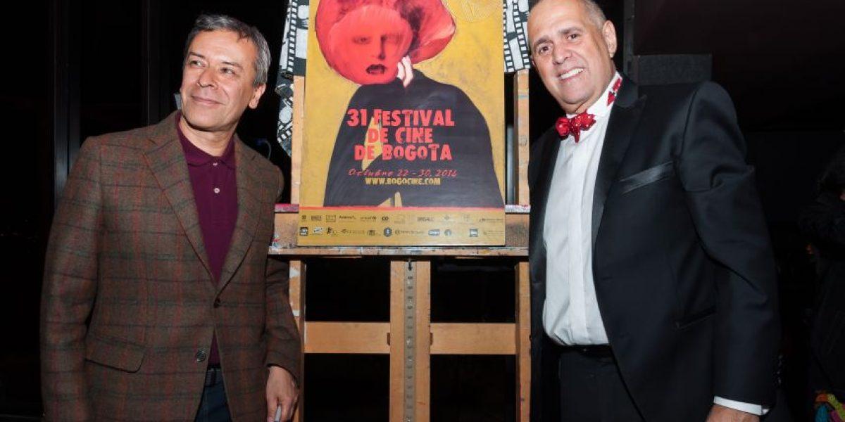 Pedro Ruiz fue el creador de la imagen del Festival de Cine de Bogotá