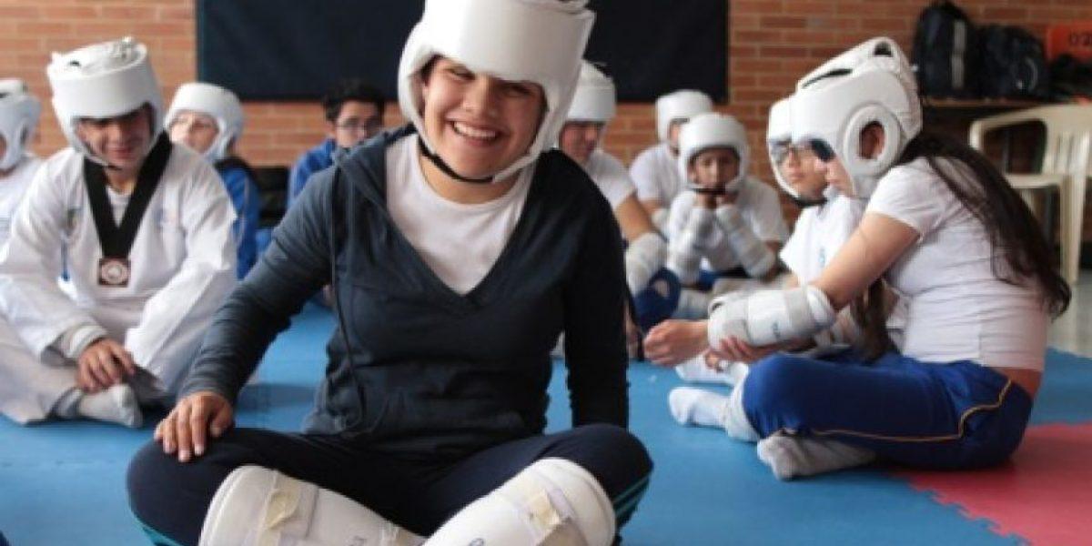 Fotos: Taekwondo sin ver, un ejemplo de vida