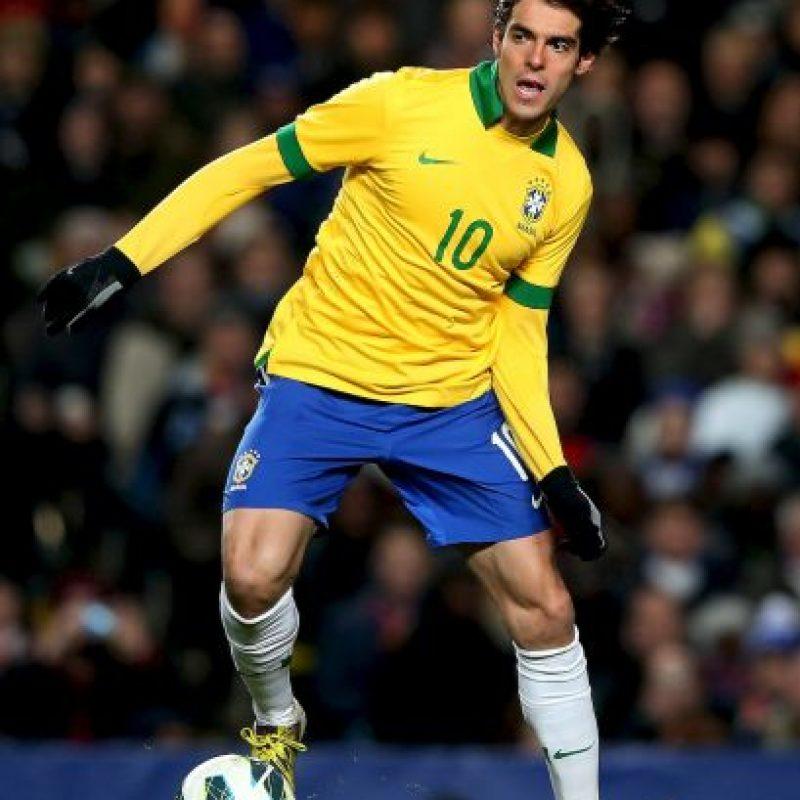 Brasil se mide a Argentina en China; Kaká volverá a vestir la camiseta verdeamarela Foto:Getty