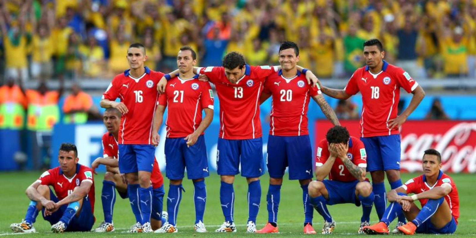 Chile se mide a Perú Foto: Getty