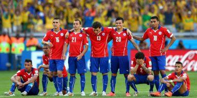 Chile se mide a Perú Foto:Getty