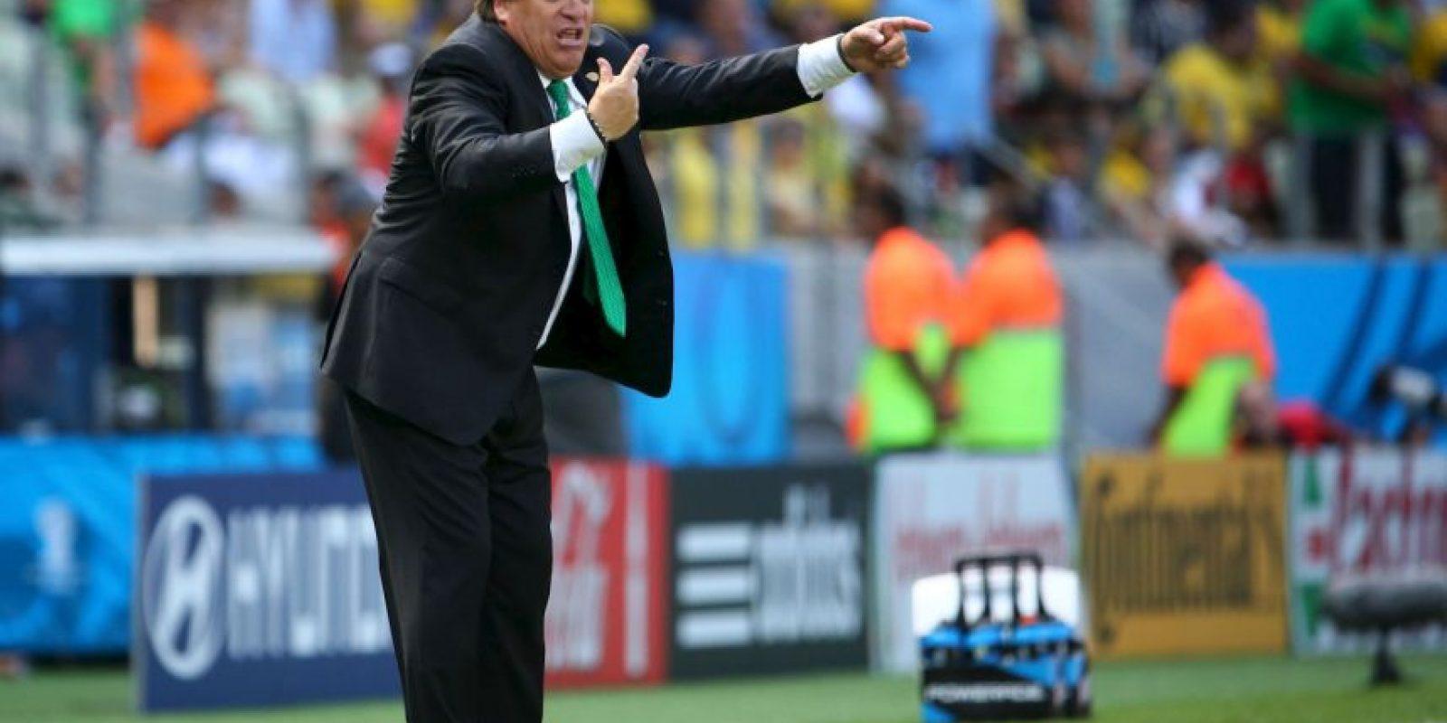 """La Selección mexicana del """"Piojo"""" Herrera se prepara para la Copa America y la Copa Oro de 2015 Foto:Getty"""