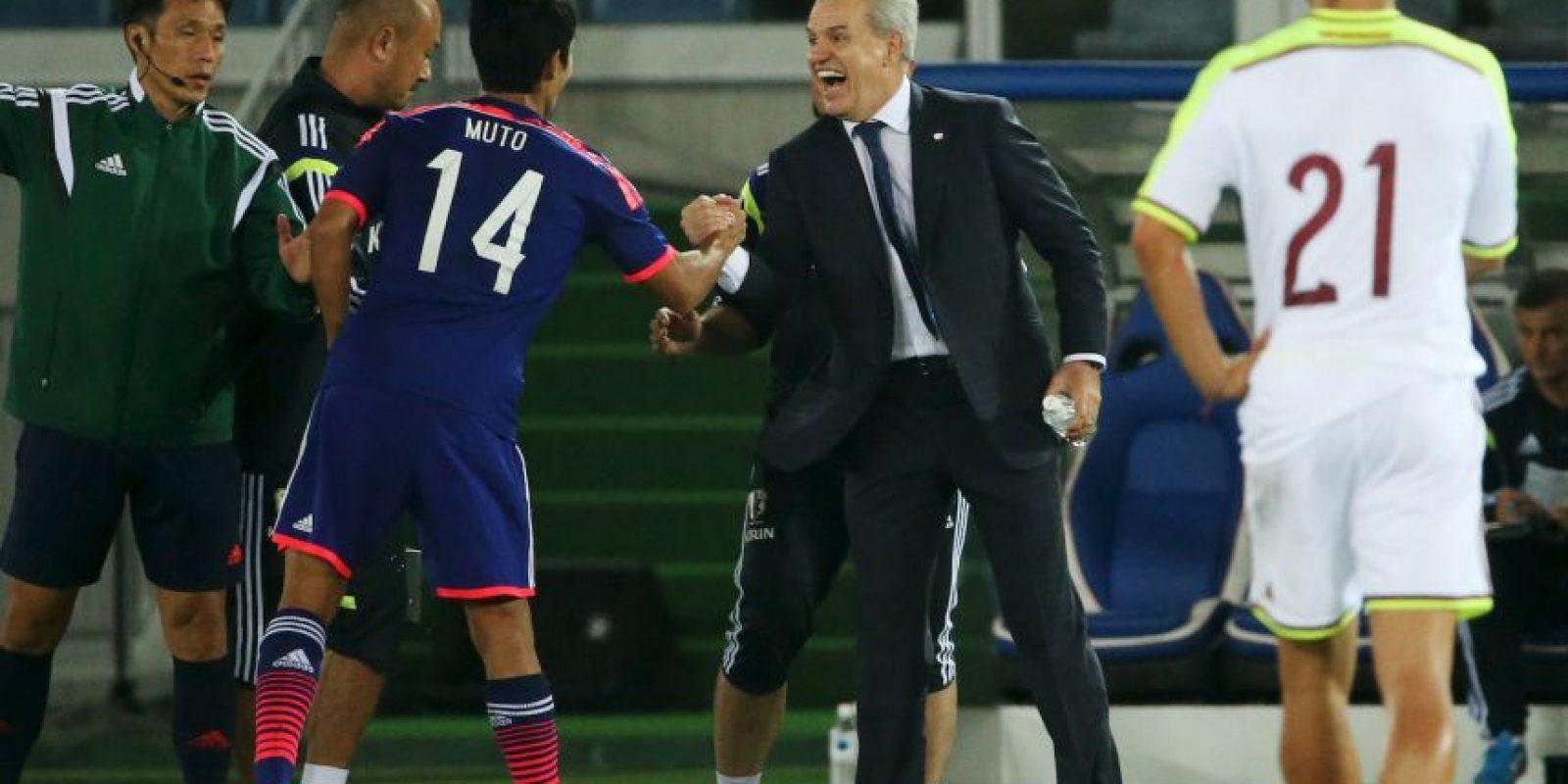 Javier Aguirre busca su primera victoria al frente de Japón ante Jamaica Foto:Getty
