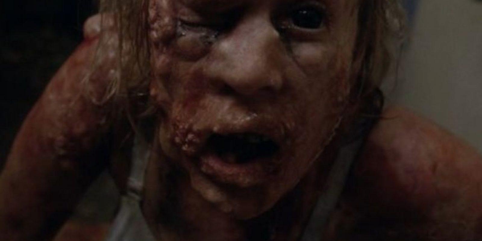 Shelly. Después de lo que le hizo el doctor Arden, Shelly se convirtió en un personaje por quien sentimos miedo y lástima Foto:FX vía Wikipedia