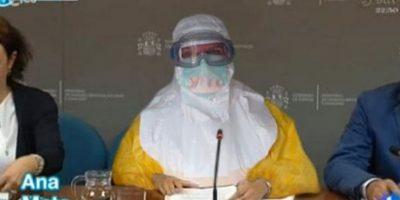 A pesar de la gravedad de la situación del ébola, el humor ha sido el camino para muchos de los habitantes donde se han reportado contagiados. Foto:Twitter