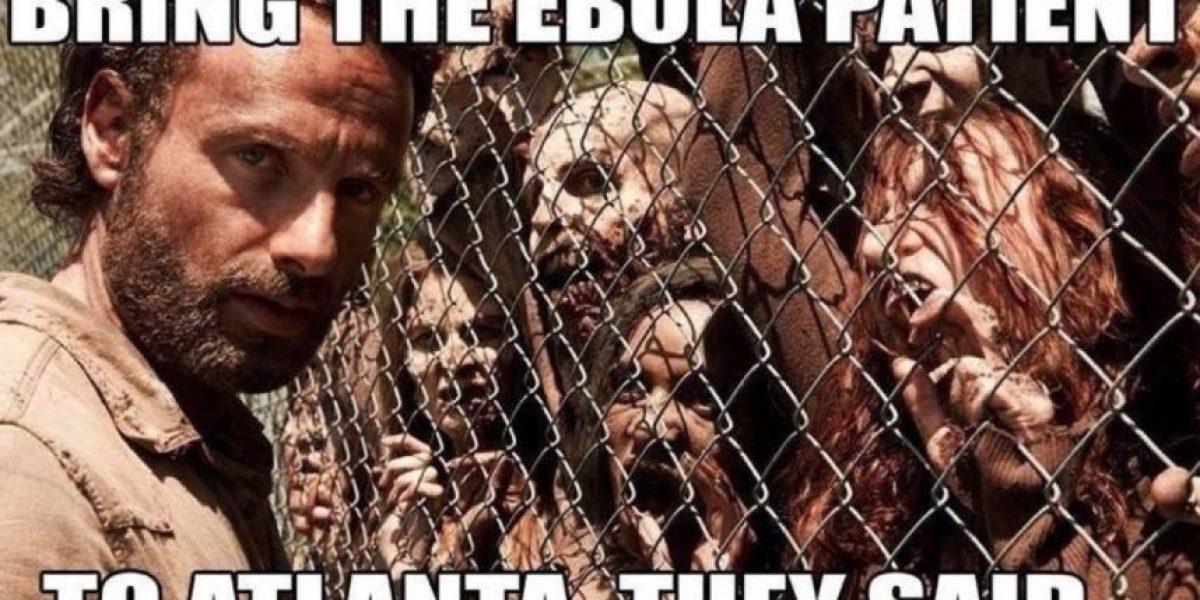 FOTOS: Así se burlan de la llegada del virus del ébola
