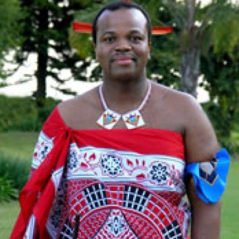 Mswati II, rey de Suazilandia Foto:Getty