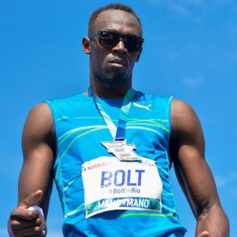 El hombre más rápido del mundo tiene un valor de su marca de 19 millones de billetes verdes Foto:Getty