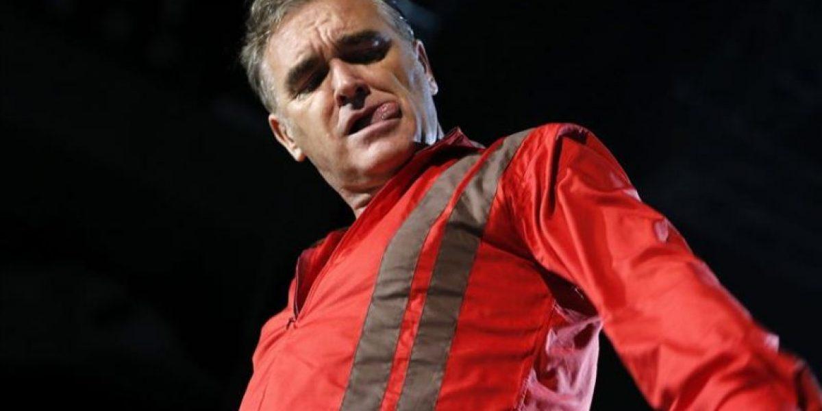 Morrissey arremete en Madrid contra
