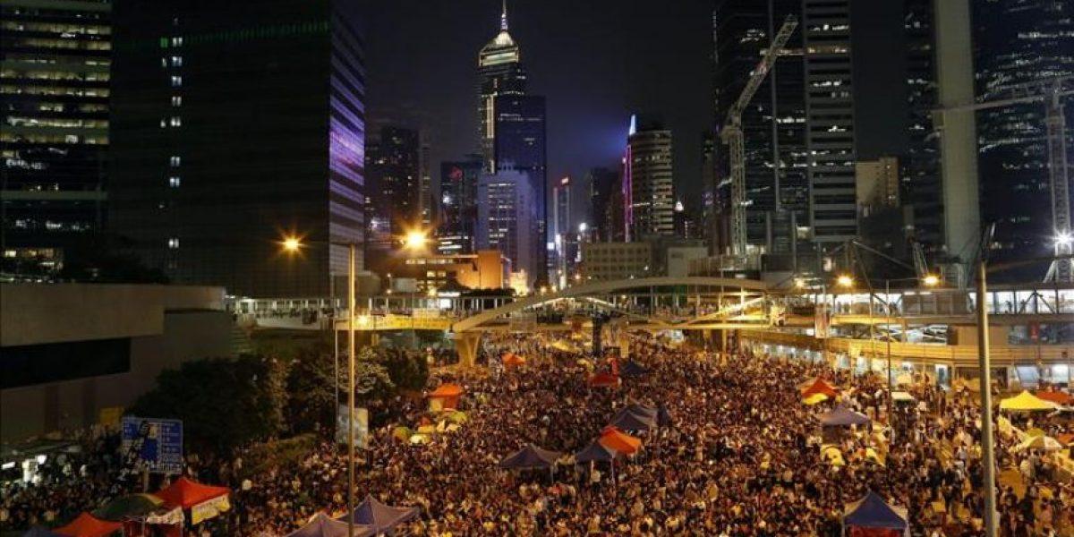 Las protestas en Hong Kong se reaniman tras la cancelación del diálogo