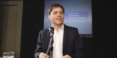 El ministro de Economía de Argentina, Axel Kicillof. EFE/Archivo