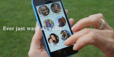 Cuddlr ocupa su ubicación para contactarlos con alguien cercano. Foto:Cuddlr App