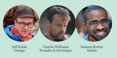 El equipo de Cuddlr App. Entrevistamos a Charli Williams, fundador y desarollador de la aplicación. Foto:Cuddlr App