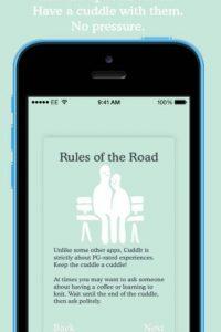 Las reglas son simples y claras. Foto:Cuddlr App