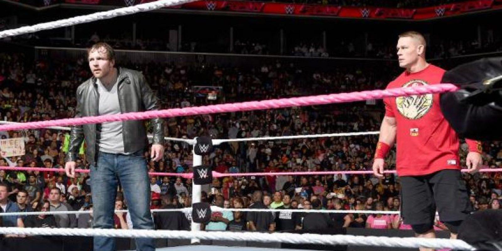 Pero Cena tiene 24 años menos que Hogan Foto:WWE