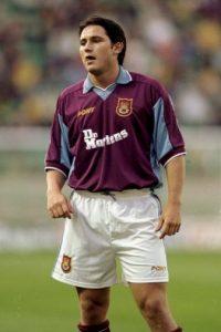Frank Lampard debutó en 1994 con el West Ham Foto:Getty