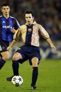 Andrés Iniesta debutó en la camapaña 2002-2003 con el Barcelona Foto:Getty