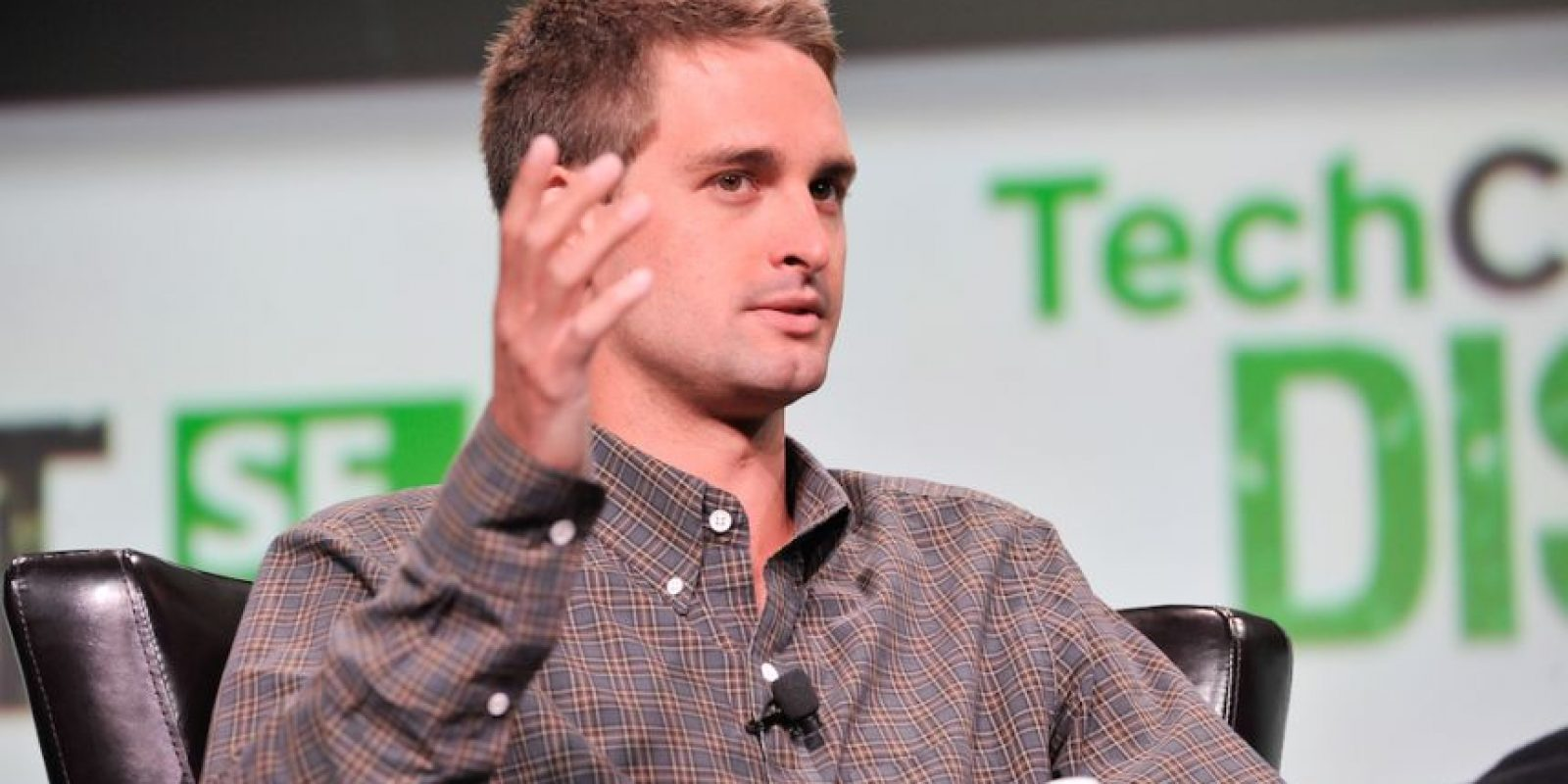 Evan Spiegel, CEO de Snapchat. Foto:Getty Images