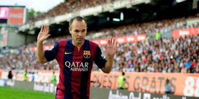 Iniesta continuá en la escuadra culé Foto:Getty